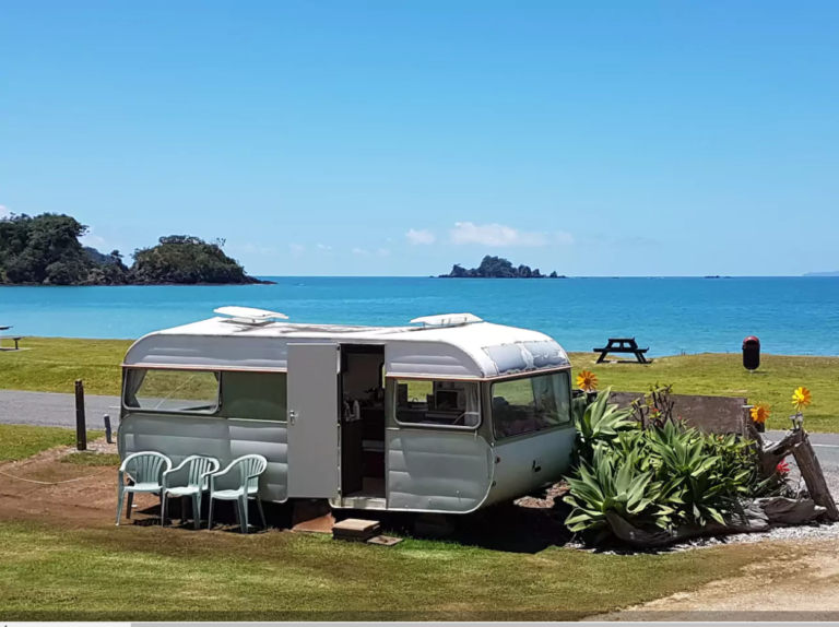 Caravan with Million Dollar Views