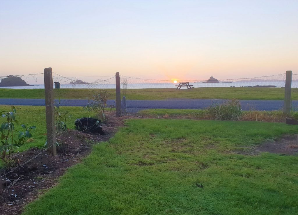 Front Tentsite sunrise