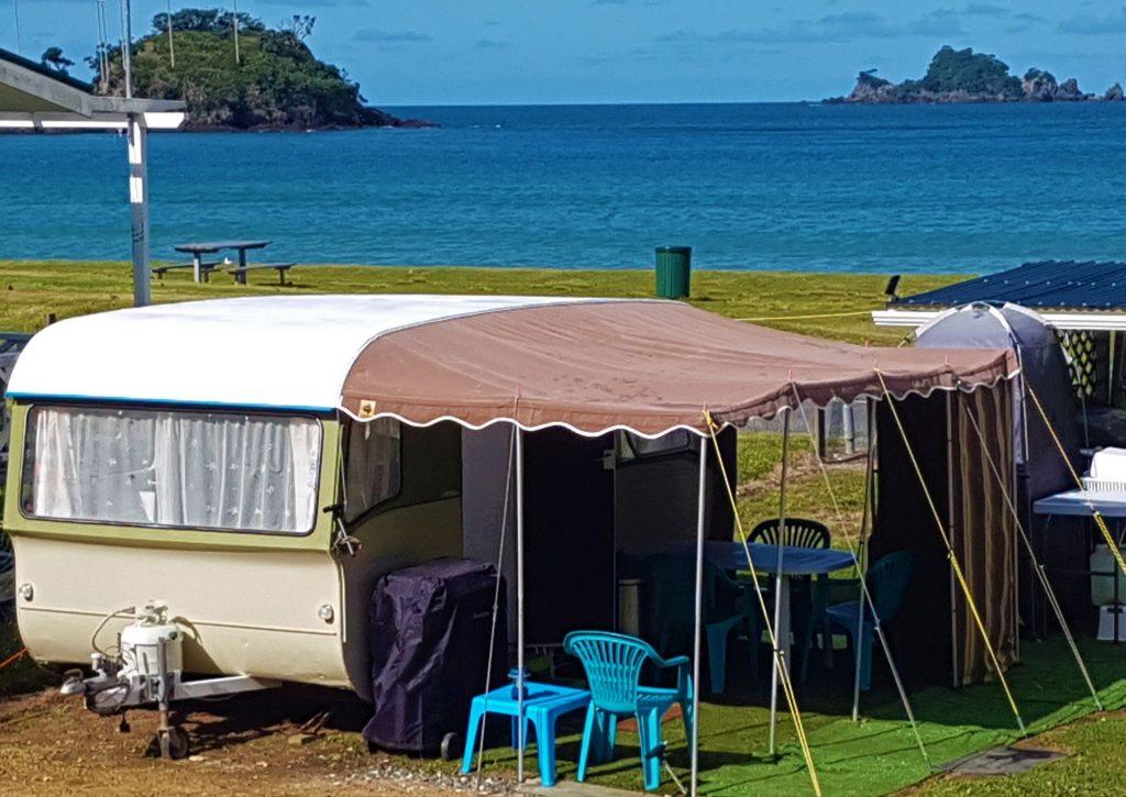 Oakura Retro Caravan